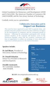 Conversatorio sobre el impacto de la colaboración de la academia en la innovación y los negocios