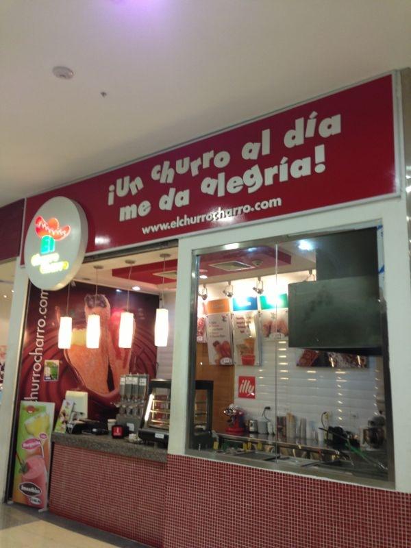 Local Churro Charro Blue Mall