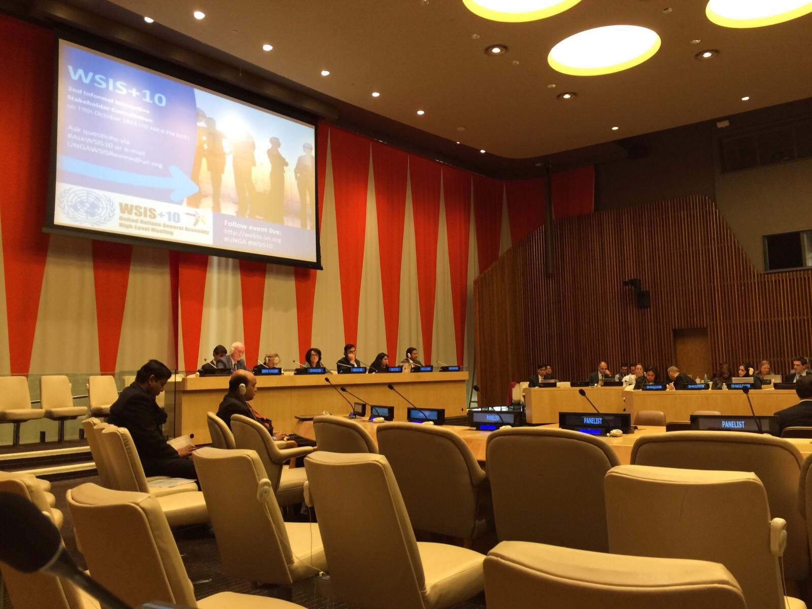 OL en la ONU