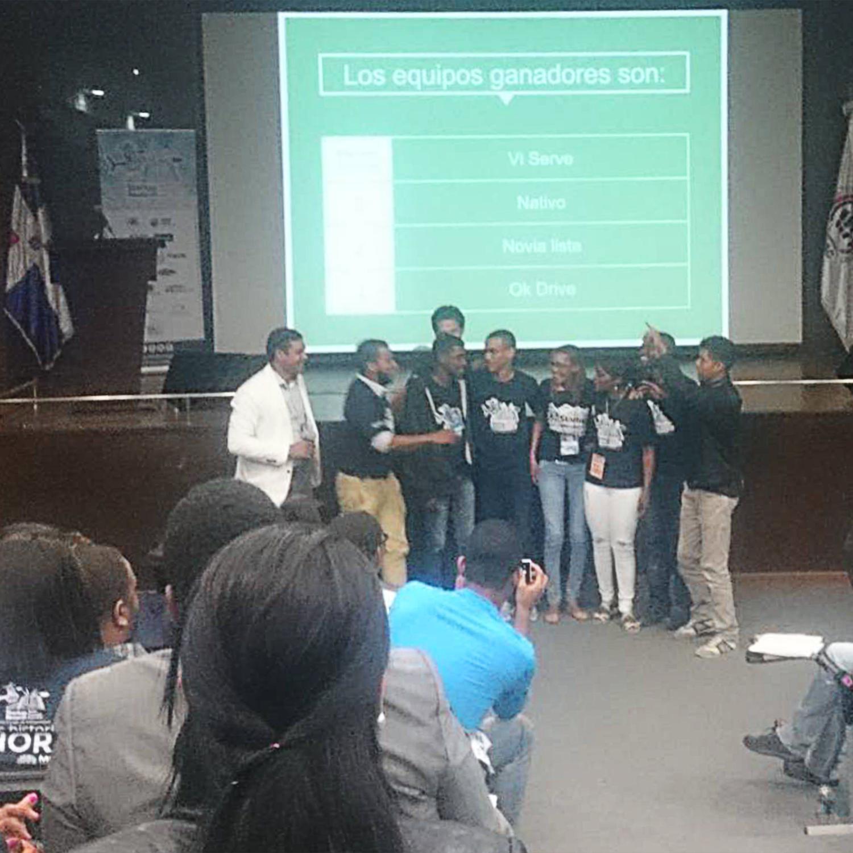 Ganadores Startup Weekend Santo Domingo Este.